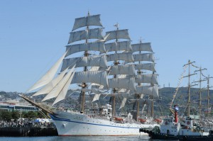 長崎県出島 帆船祭り
