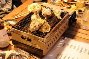 長崎県出島にて食事