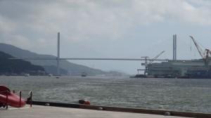長崎港での張り込み